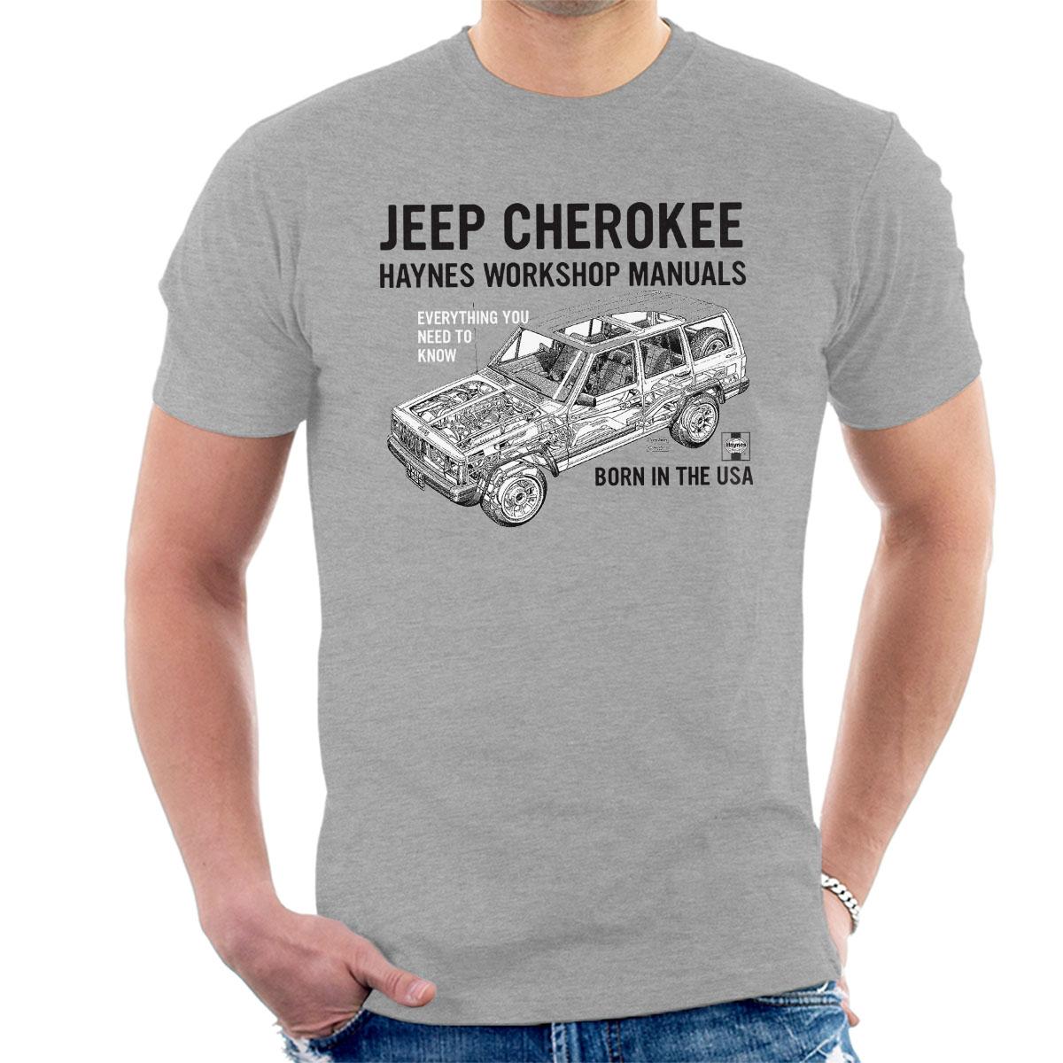 Black t shirt ebay - Haynes Owners Workshop Manual Jeep Cherokee Black Men